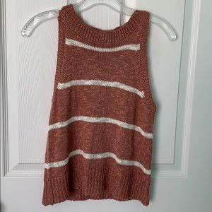 altar'd state sweater material tank top WORN ONCE